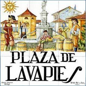 """Historia y leyendas del barrio de Lavapiés - Madrid -, antiguo barrio judío. """"Cuando vayas a Madrid, chulona mía. . voy a hacerte Emperatríz de Lavapiés. . """""""