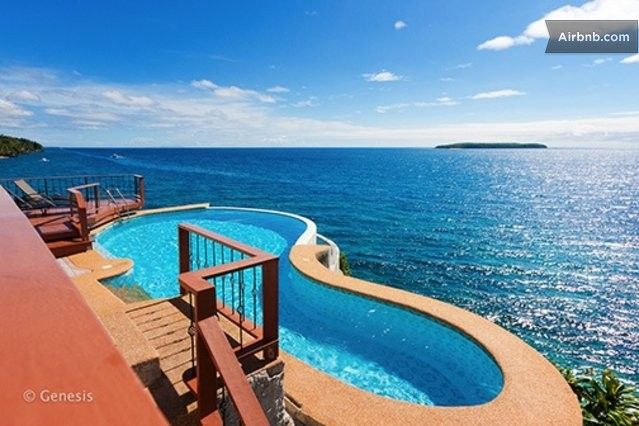 17 best images about villa on a cliff on pinterest for Villas with infinity pools