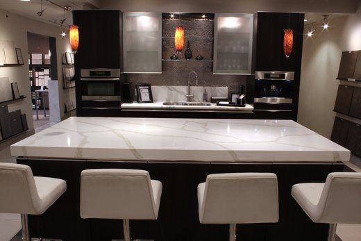 Our New Countertops Venatino Polished Quartz For The