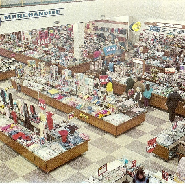 A Coles store from yesteryear .. Brisbane