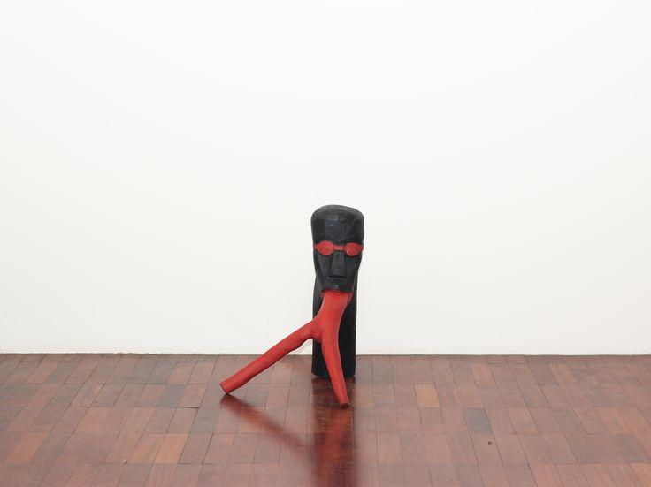 Cícero Alves dos Santos - Véio Sem título , 2012 Tinta acrílica e madeira 60x 50 x 60 cm