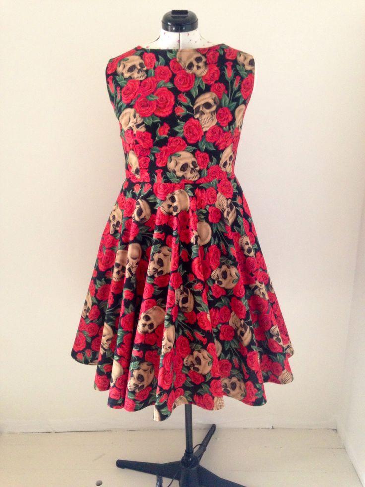 Rockin Roses Dress
