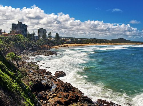 Coolum Beach, Queensland, Australia.