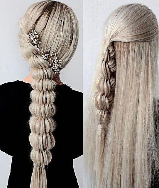 Blonde Braided Hairstyles #braidedhairstyles #braidedhairstylesforblackwomen #braidedhair #braidedhairstylestutorials #dutchbraids #frenchbraid #fishtailbraid #fishtail #hairstylesforshorthair #prettybraidedhairstyles