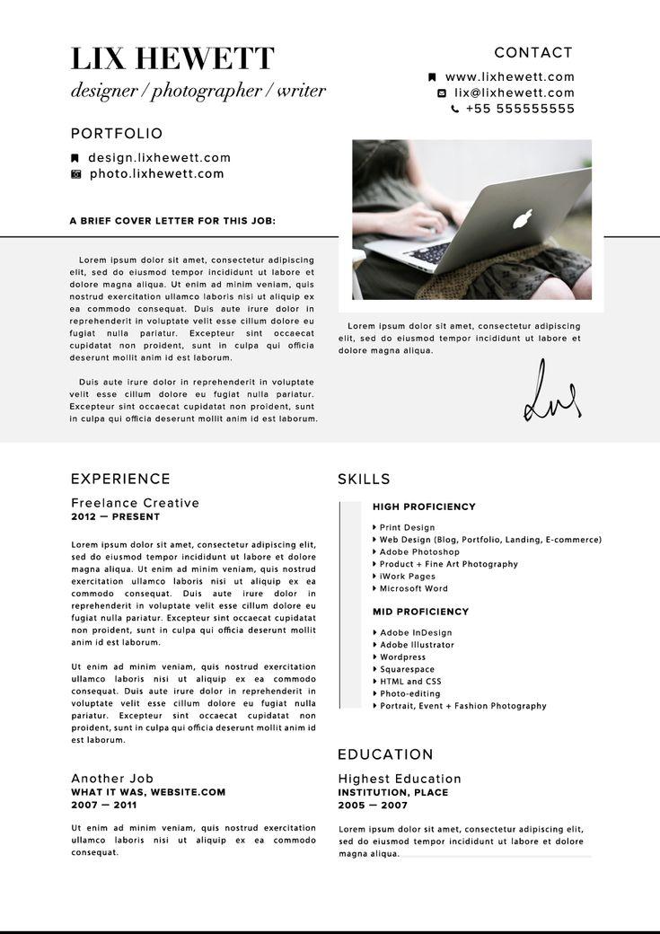 64 best c v d e s i g n images on Pinterest Resume cv, Resume - ui designer resume