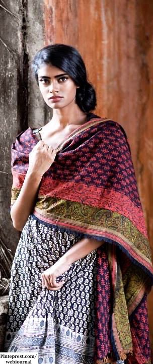 Kalamkari prints, mashru , Ikat with Jaipur block prints, Khari prints, zari varanasi weaves with embroidery  https://www.facebook.com/nikhaarfashions