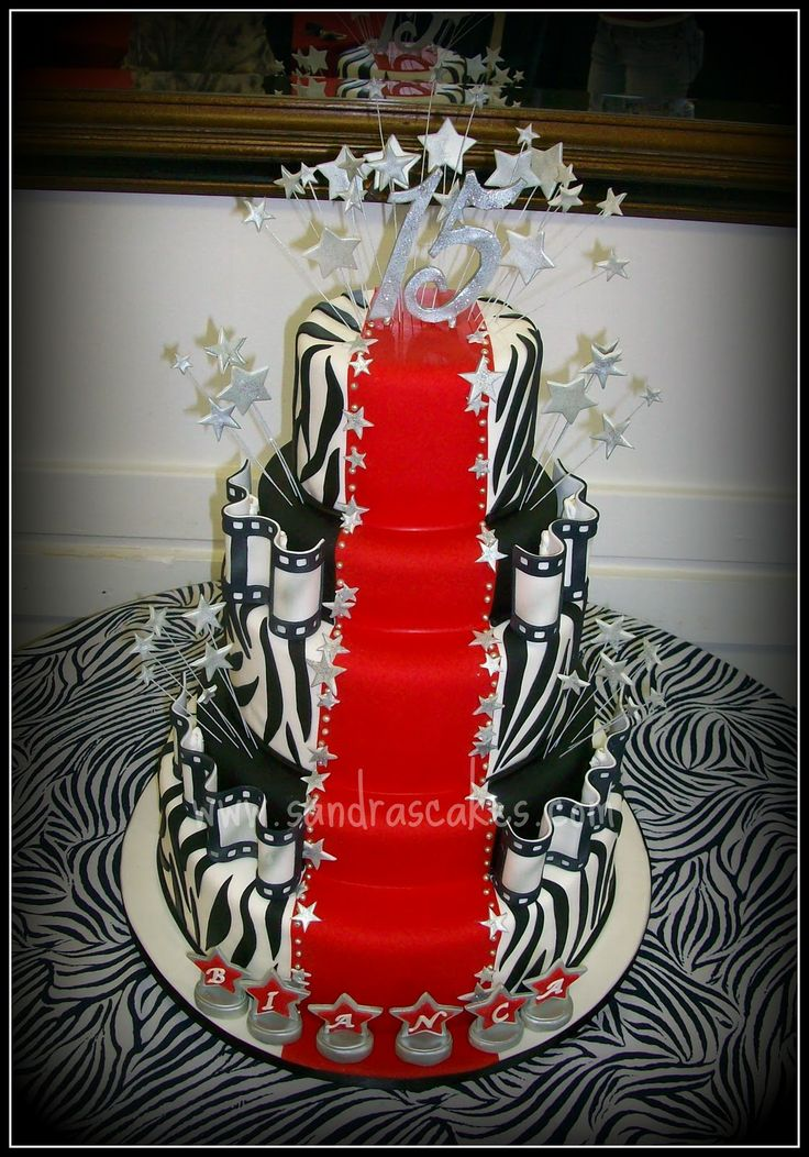Red Carpet Cake Images : Red carpet cake red carpet party Pinterest