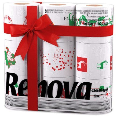 RENOVA WHITE PRINT 2 PLY CHRISTMAS XMAS TOILET BATHROOM TISSUE ROLLS PAPER (9 PACK), http://www.amazon.co.uk/dp/B00GCBQ2YO/ref=cm_sw_r_pi_awd_cY-Rsb0PT9QM0