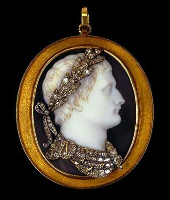 Napoleon I onyx, gold, by Nicola Morelli 18th c.