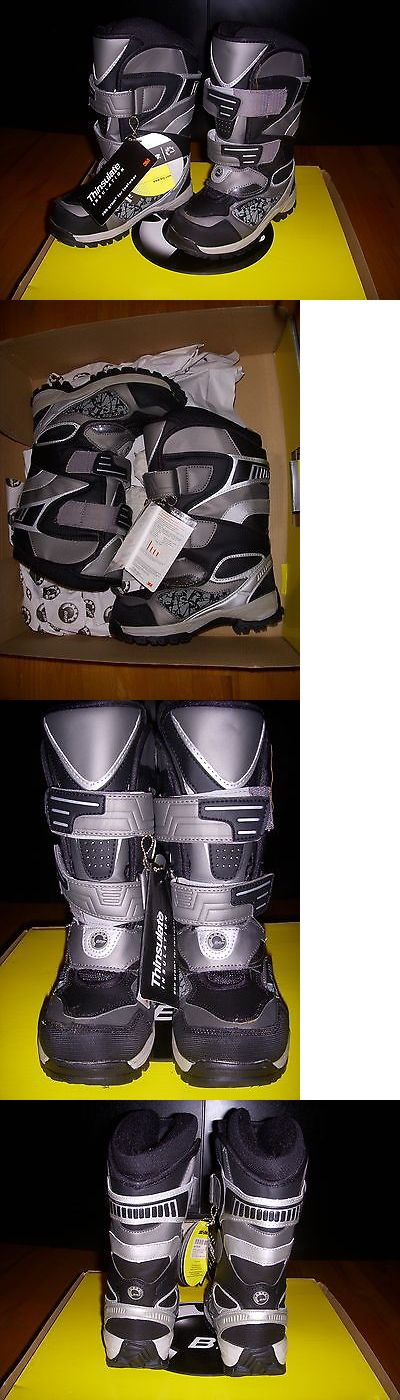 Other Snowmobiling 4847: Brp Ski-Doo Junior Kids Holeshot Snowmobile Boots Size 12 Bnib -> BUY IT NOW ONLY: $99.99 on eBay!