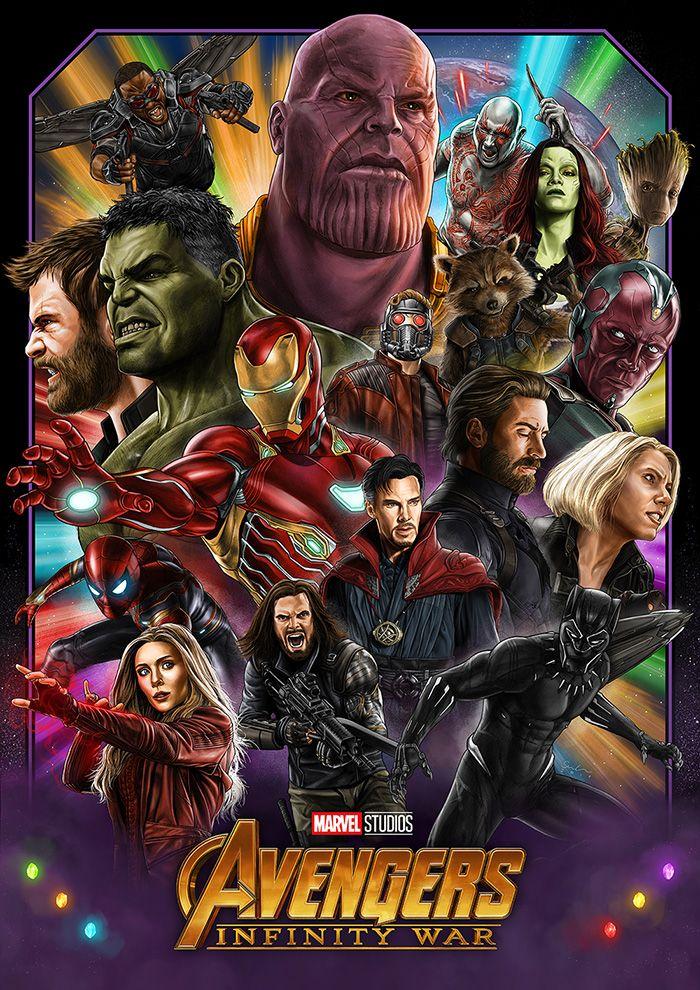 Avengers Infinity War By Sam Green Home Of The Alternative Movie Poster Amp Marvel Superhero Posters Marvel Posters Avengers Infinity War