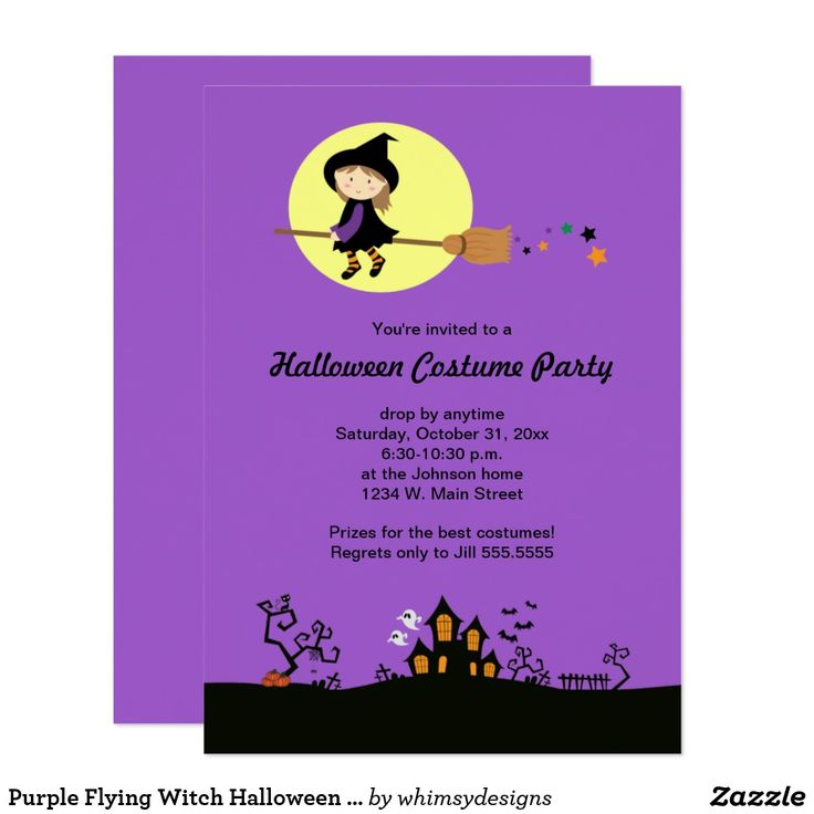 166 best Halloween: Party Invites images on Pinterest