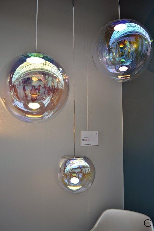 Lighting fixtures by Neocraft Iris Sebastian Scherer spotted by C-More interiorblog at IMM Cologne 2015 C-More |design + interieur + trends + prognose + concept + advies + ontwerp + cursus + workshops #mydesignagenda