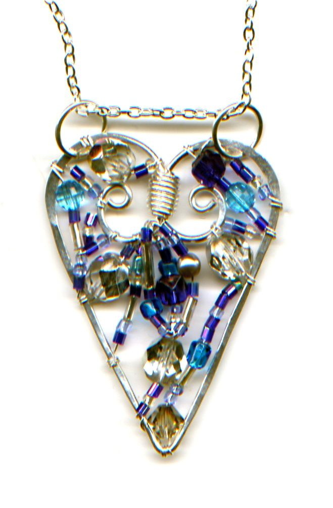 296 best Wire Jewelry--heart images on Pinterest | Jewelry ideas ...