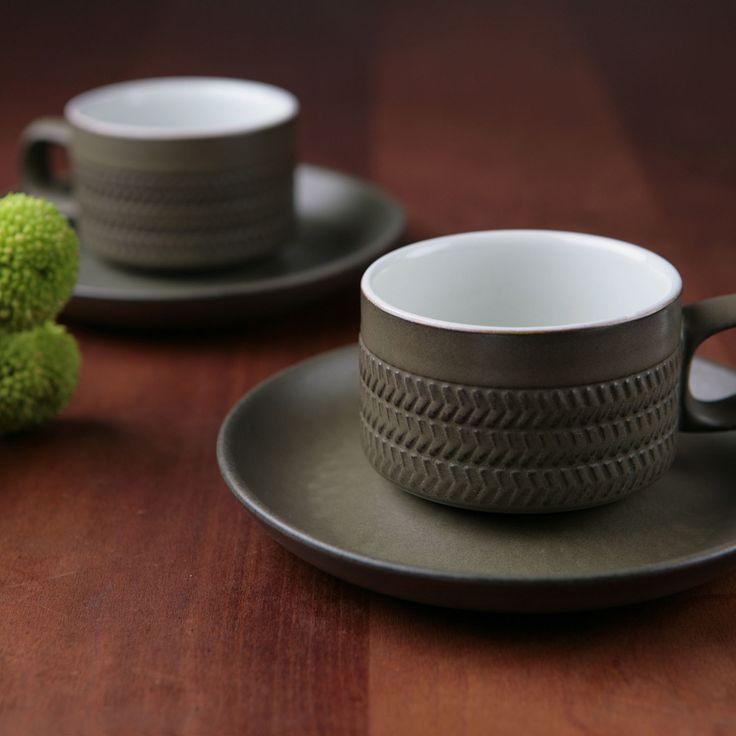 vintage U.K. Denby Chevron Gill Pemberton ヴィンテージ イギリス デンビー・シェブロンphoto Masa U & 15 best Denby images on Pinterest   Pottery Ceramic art and Chevron ...