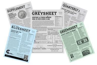 "How Do Coin Dealers Decide On Prices?: Sample Copies of the Coin Dealer Newsletter, Also Known As ""the Greysheet"""
