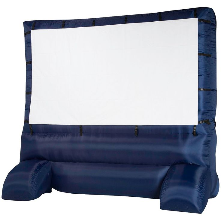 Airblown Inflatable Deluxe Widescreen Movie Screen-12', Black