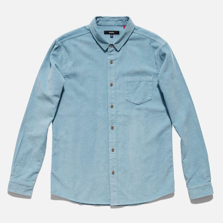 Roy Long Sleeve Woven Shirt