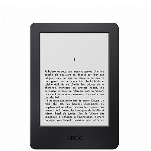 """Kindle, écran tactile 6"""" (15,2 cm) antireflet, Wi-Fi (Noir) - Avec Offres spéciales Amazon http://www.amazon.fr/dp/B00KDRUCJY/ref=cm_sw_r_pi_dp_IEWYwb00373GS"""