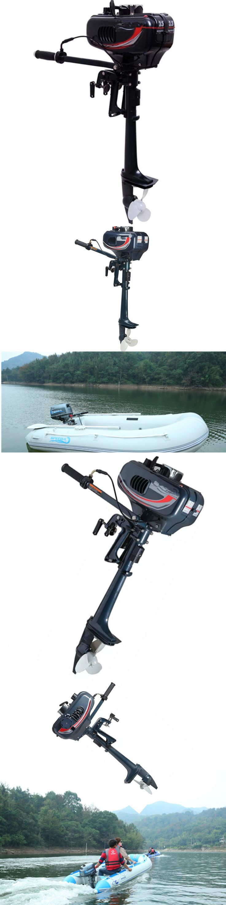 boat parts: New 2 Stroke 3.5Hp Heavy Duty Outboard Motor Boat Engine W/Water Cooling System -> BUY IT NOW ONLY: $999.0 on eBay!