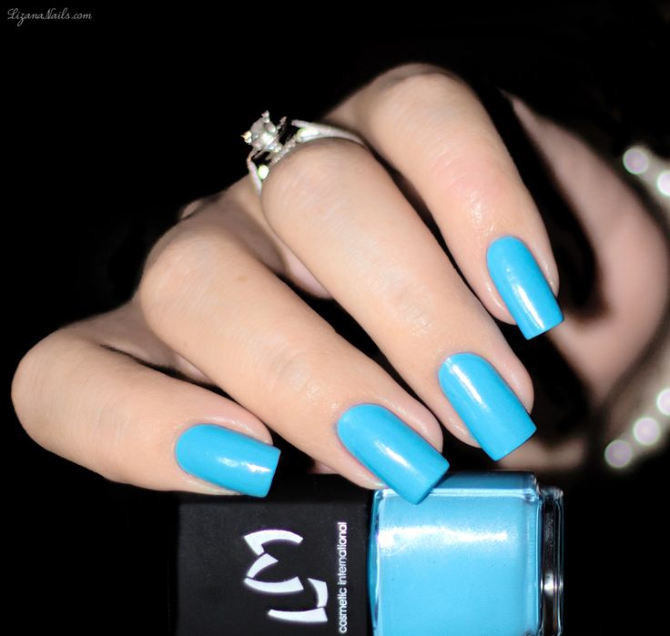 94 best Blue Nail Polish Swatches images on Pinterest | Blue nail ...