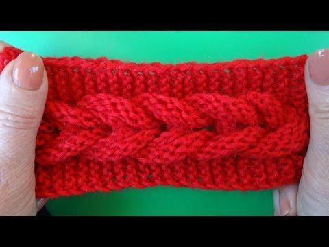 Knitting pattern Узор Коса вязание спицами 7. Link download…