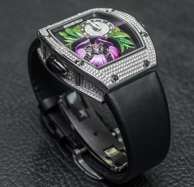 """Richard Mille RM 19-02 Tourbillon Fleur Watch Hands-On At Harrods, London - by Rob Nudds - on aBlogtoWatch """"Tuesday the 7th of July, 2015, saw the opening of the Richard Mille concession in Harrods, London. To honour the opening of his latest point of sale, Richard Mille presented the RM 19-02 Tourbillon Fleur to a crowd of industry professionals, who'd kindly shelved their Tuesday morning schedules in favour of a few complimentary cocktails..."""""""