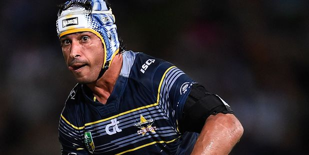 North Queensland Cowboys playmaker Jonathan Thurston. Photo / Getty Images
