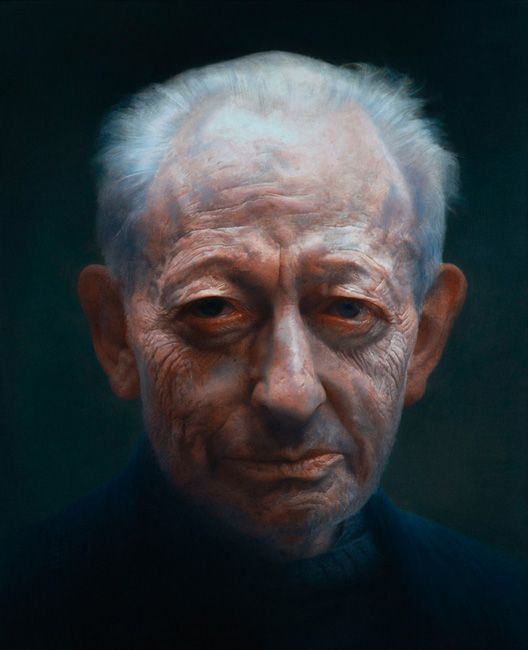 Michael Simpson by Paul Emsley (BP Portrait Award winner 2007)