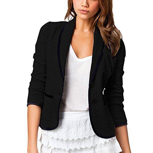 DELEY Damen Herbst Slim Fit Elegante Büro Business Blazer... https://www.amazon.de/dp/B01K6UPXPA/ref=cm_sw_r_pi_dp_x_qf1LybMRGVHX4