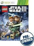 Lego Star Wars III: The Clone Wars — PRE-Owned - Xbox 360