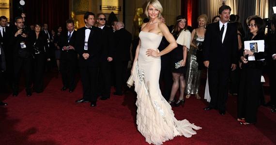 Cameran Diaz wearing Gucci at 2012 Oscars