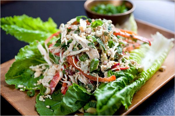 Indonesian-Style Chicken Salad Recipe - NYT Cooking