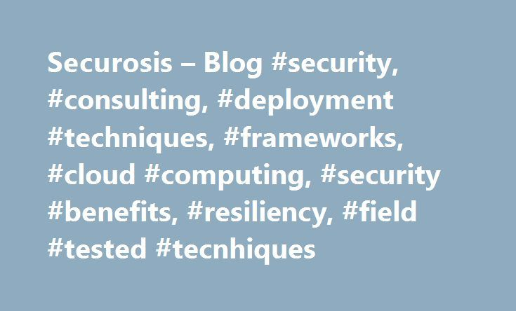 Securosis – Blog #security, #consulting, #deployment #techniques, #frameworks, #cloud #computing, #security #benefits, #resiliency, #field #tested #tecnhiques http://baltimore.nef2.com/securosis-blog-security-consulting-deployment-techniques-frameworks-cloud-computing-security-benefits-resiliency-field-tested-tecnhiques/  # Wed, June 02, 2010 Understanding and Selecting a SIEM/LM: Correlation and Alerting Continuing our discussion of core SIEM and Log Management technology, we now move into…
