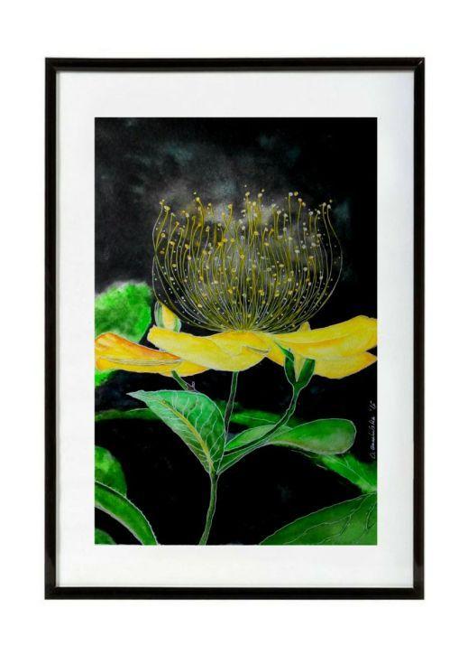 OLENA.ART Foldaway Tote - bird cat flower hearts by OLENA.ART mwSlfyODIL