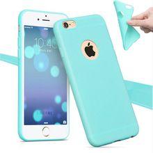 Telefoon Shell voor Apple iPhone 6 6 S/5 S 5 SE/6 6 S Plus Case Cover Candy Kleur Zachte Siliconen Mobiele Telefoon Gevallen voor iPhone 6 S(China (Mainland))