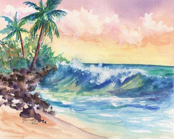 17 Best Images About Island Beach Art On Pinterest