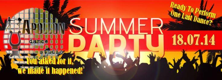 Apollon dance studio...: Summer Party!!!