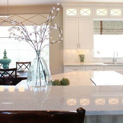 Bianco Montanha Granite Clean Amp White Kitchen
