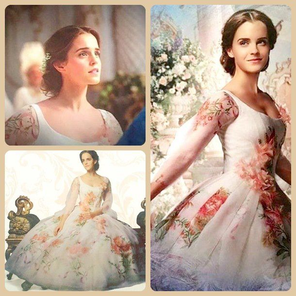 This is my favorite dress that Belle wears in the movie!