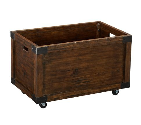 Rustic Toy Box from Pottery Barn Kids