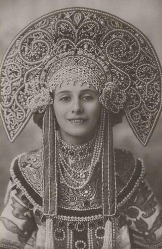 Анна Павлова и ее кокошники - Ярмарка Мастеров - ручная работа, handmade