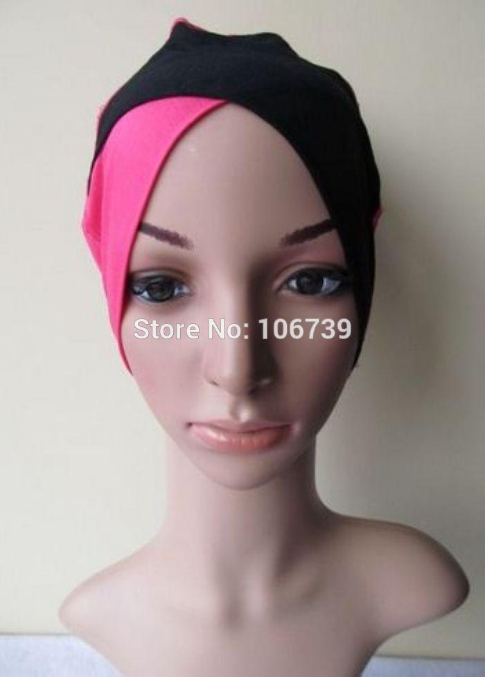 Купить товарTt150 разных цветов хлопок мусульманский хиджаб шляпа кепка в категории Комплекты (шарф, шапка и перчатки)на AliExpress.    Tt150 Оптовая Дизайн мусульманский шляпу крышка Бесплатная доставка разные цвета.       Мода мусульманских круж