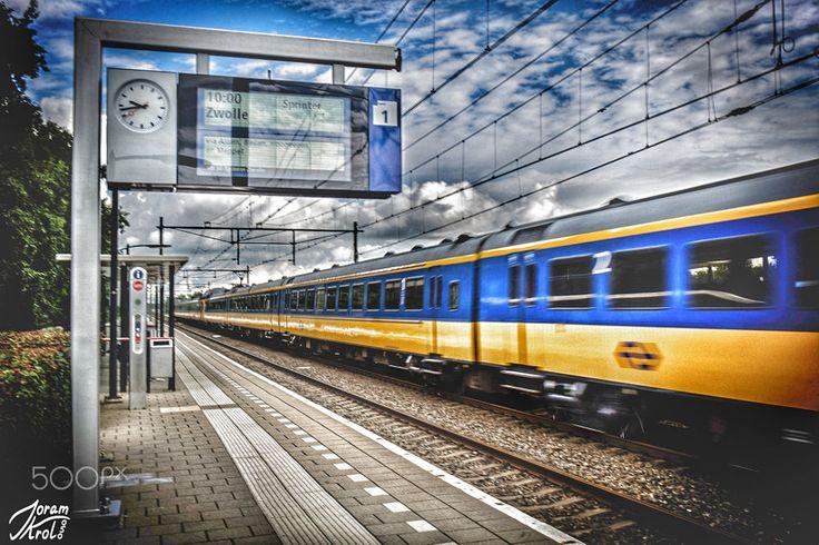 Haren station by Joram Krol on 500px
