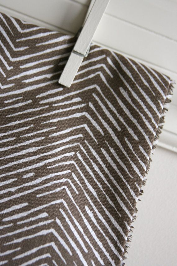 Cameron in Italian Brown Slub Home Decor Weight Fabric from Premier Prints - ONE FAT QUARTER Cut