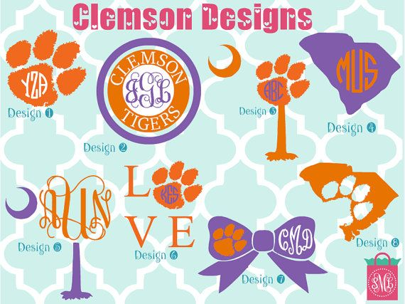 Hey, I found this really awesome Etsy listing at https://www.etsy.com/listing/245564603/custom-clemson-monogrammed-shirt-clemson