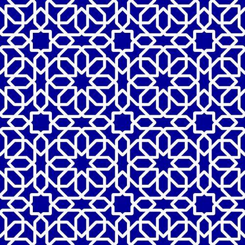 Ramadan_blue-pattern by bsperan, via Flickr