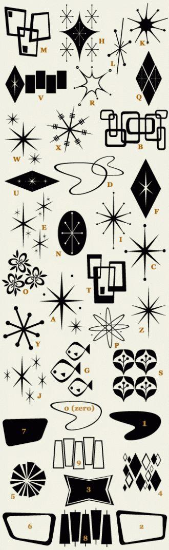 1950s fonts - Retro Ricky