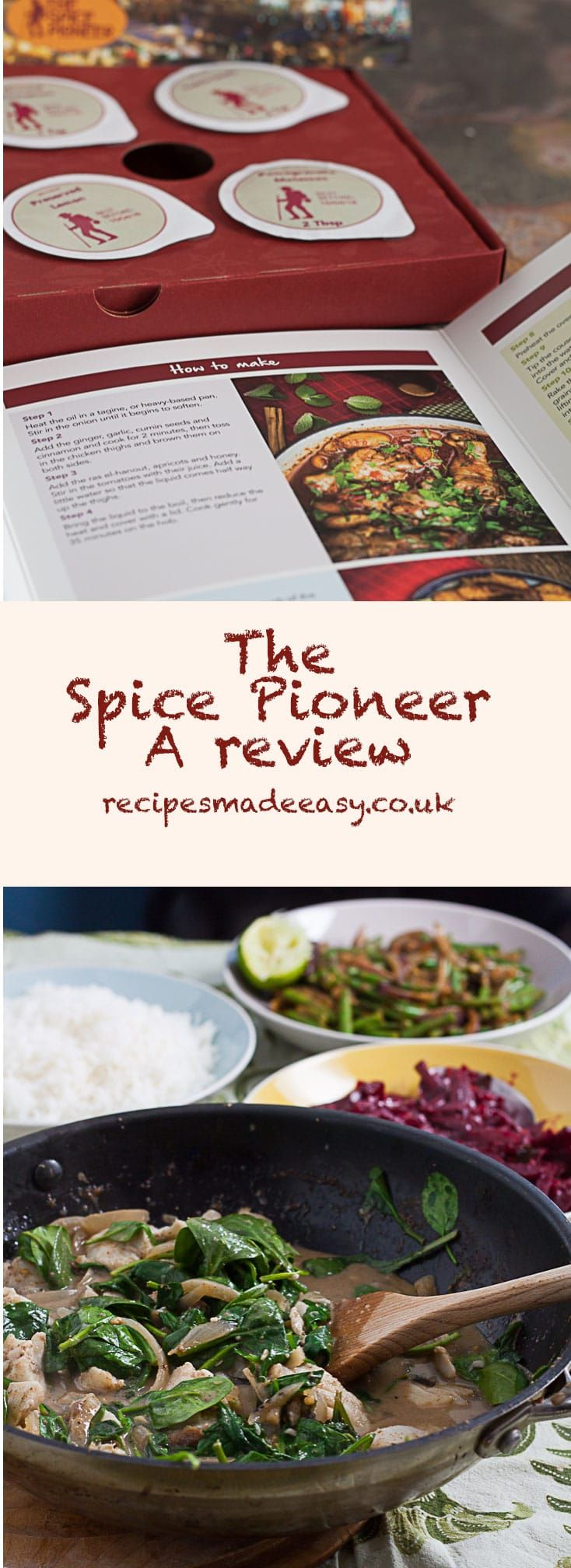 Do you like spicy food? Do you like cooking different dishes from around the world? If so then a subscription to The spice pioneer may be right up your street. All the spices you need to make a delicious meal for 4 delivered to your door.  #review #spicyfood #spices #spicepioneer #spicebox  via @jacdotbee
