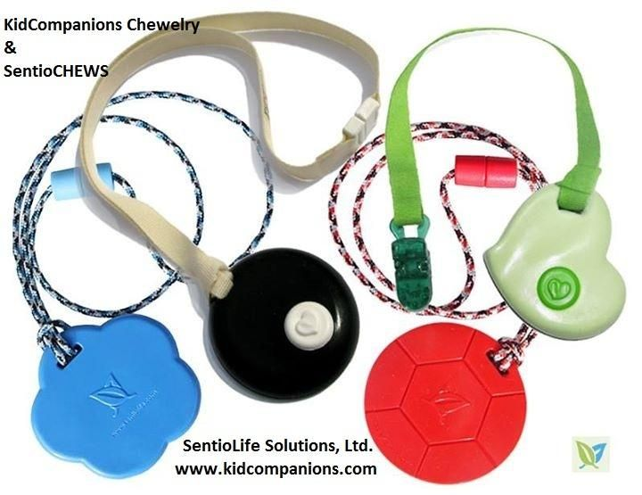 LOOKING for discreet #chewy, quiet #fidget? Child wants to blend in with peers? Needs a chew necklace/fidget that will not be a distraction to classmates? www.kidcompanions.com #ADHD #SPD